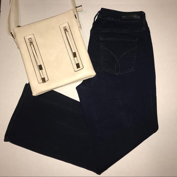 Calvin Klein Jeans Denim - Dark wash, Calvin Klein curvy bootcut jean
